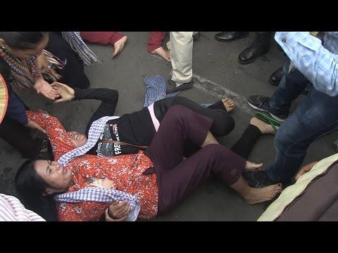 7 Makara Securities Violent on Boeng Kork Ladies