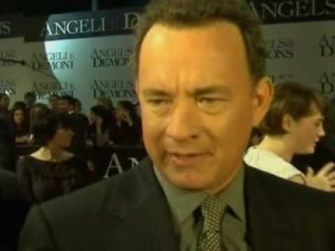Tom Hanks At Angels And Demons Premiere