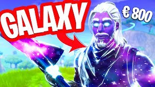 PLAY WITH THE GALAXY SKIN AND NEW BACK BLING!! (and scare people!) Fortnite Battle Royale
