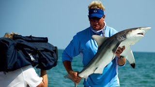 Beach TARPON fish and SHARK fishing