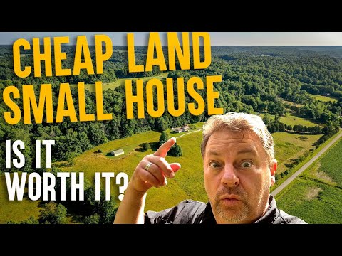 Small house Big Land 62 acre Farm Tour, Ponds+Barns, House and Land for Sale in Kentucky