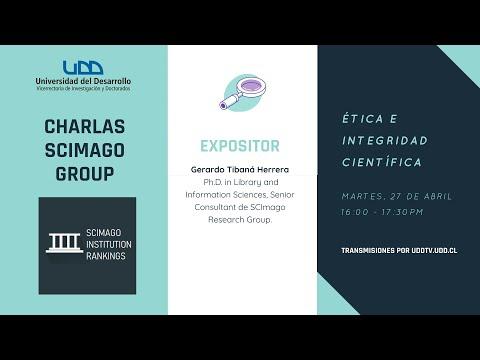 Charlas Scimago Group | Ética e integridad científica