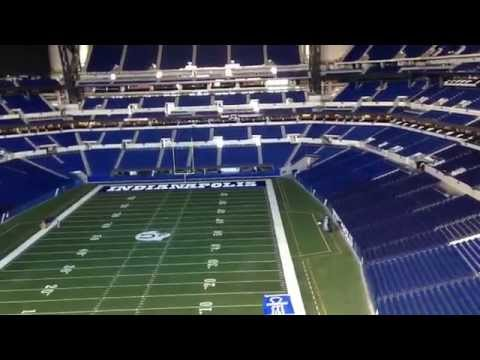 INSIDE LOOK of  Lucas Oil Stadium| Indianapolis Colts