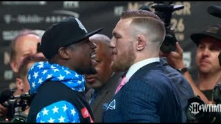 Mayweather-McGregor face off