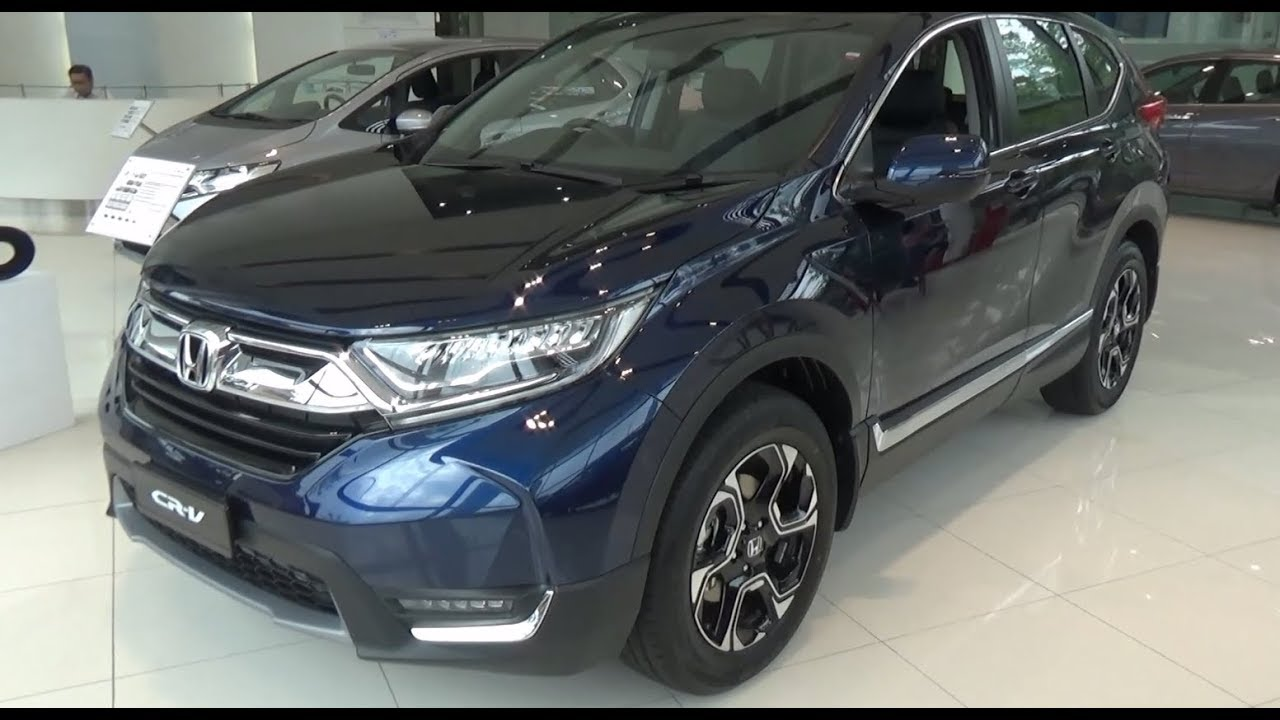 honda cr v 1 5 tc 4wd 2017 exterior interior youtube. Black Bedroom Furniture Sets. Home Design Ideas
