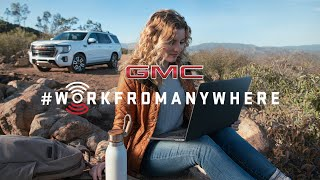 GMC Wants You to #WorkFromAnywhere | GMC