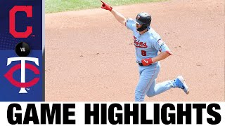 Mitch Garver homers in 3-1 win vs. Indians | Indians-Twins Game Highlights 8/2/20