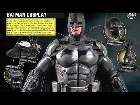 Batman Cosplay Suit With 23 Functioning Gadgets Earns Fan A Spot In The Guinness World Records!