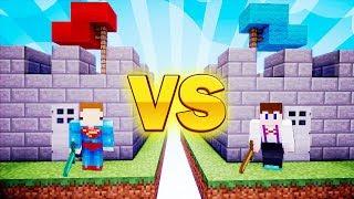 Minecraft Zamki - KTO ZNISZCZY ZAMEK WYGRYWA!! #1