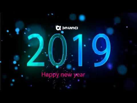 Happy New Year 2019 - Da Vinci Design