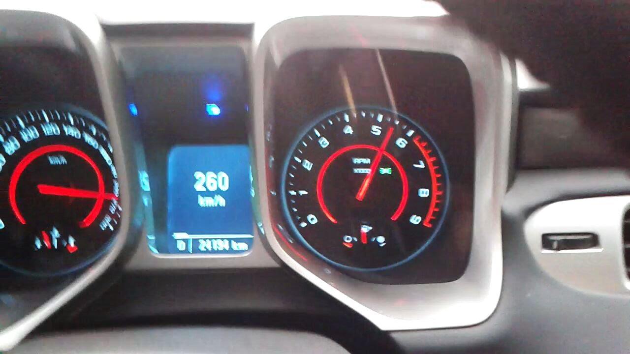 CHEVROLET CAMARO SS - TEST DRIVE TOP SPEED 261KM * 408 CAVALOS - YouTube