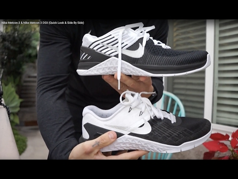 85b0a36ecf1 Nike Metcon 3   Nike Metcon 3 DSX (Quick Look   Side By Side) - YouTube
