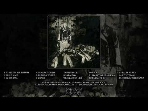 KLEPTOCRACY - KLEPTOCRACY (OFFICIAL ALBUM STREAM 2018)