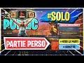 PARTIE PERSO FORTNITE !! SOLO   CHAMPIONS SERIES ! NOUVEAU CONCEPT !