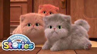 S1 EP14 Three Noisy Kittens l Badanamu Stories l Nursery Rhymes & Kids Songs