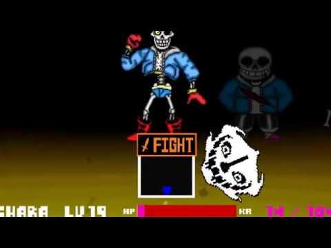 Papyrus`s Finally True Power![Back Bone Simulator]