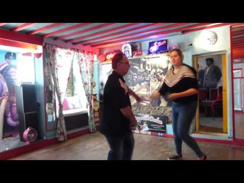 John O'Halloran Jiving at Declans Dance Studio