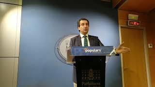 El PP plantea pedir la comparecencia del delegado del Gobierno por los menores prostituidos