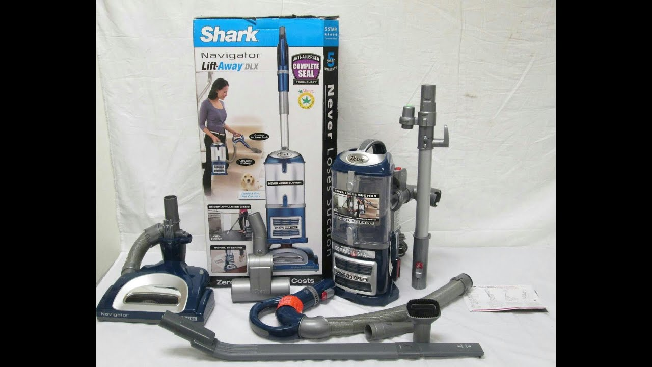 Shark Lift Away Deluxe Unboxing and Review YouTube