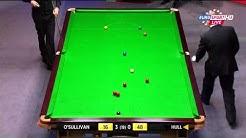 Robin Hull 102 breikki vs Ronnie O'Sullivan - Snooker MM-kisat 2014