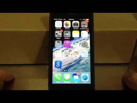 Apple iPhone - iOS 7 First Look - Ringtones