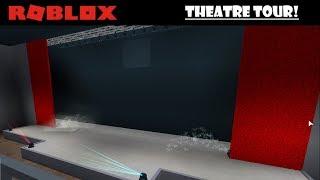 Roblox - Bloxburg - Theatre tour!