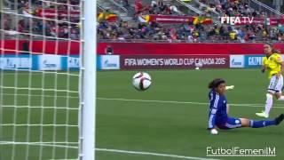 México vs Colombia Mundial Femenil Canadá 2015