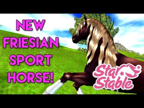 Buying the NEW Friesian Sport Horse - Star Stable