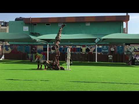 AA009 Ghana Acrobatic 3 act