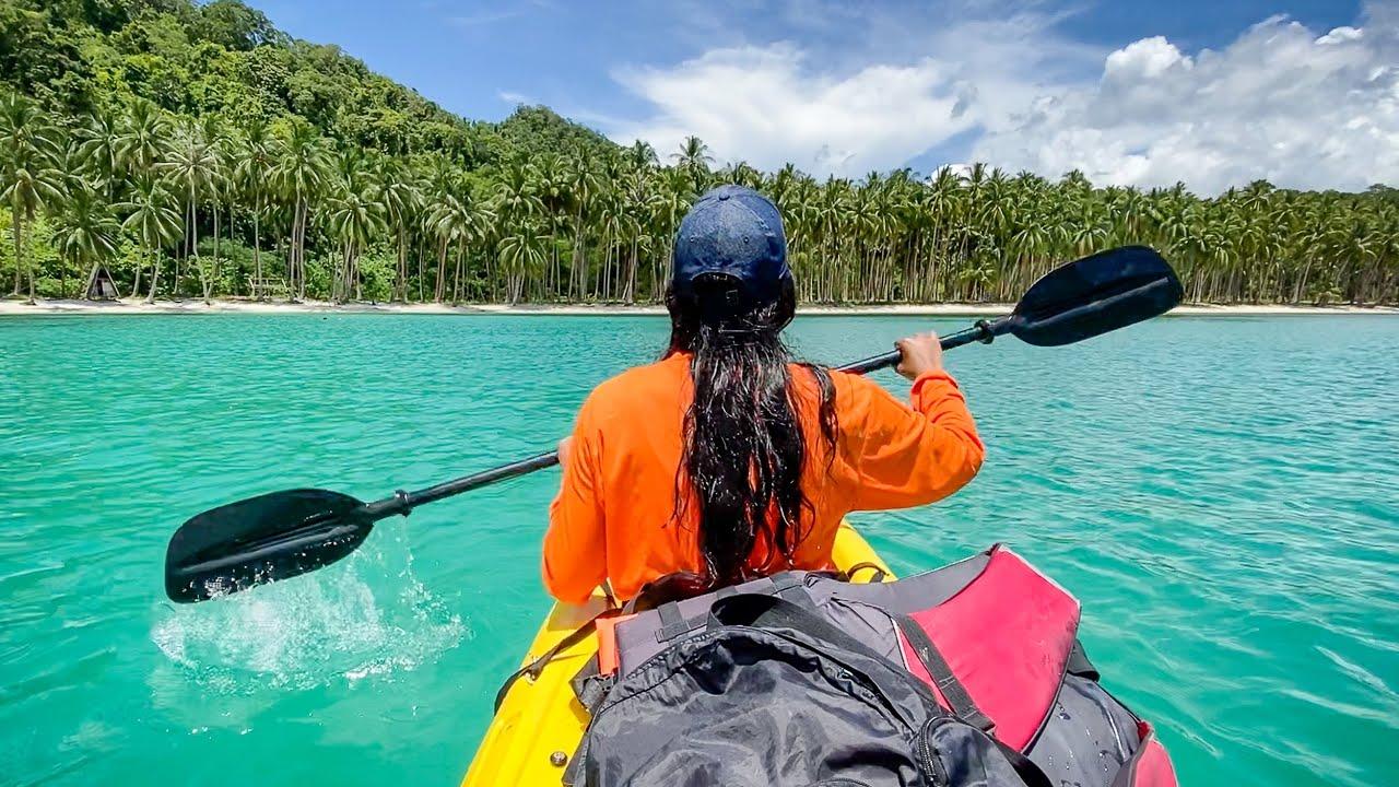 Plaże, psy i meduzy - Port Barton, Filipiny