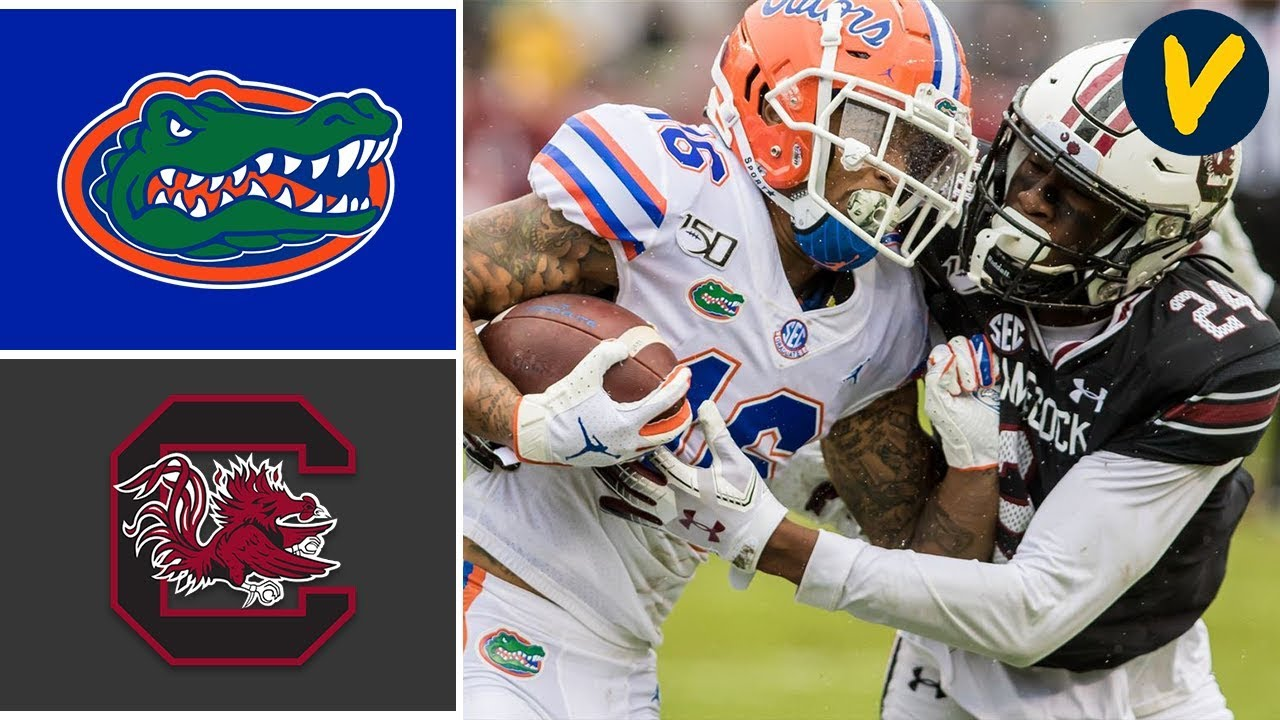 #9 Florida vs South Carolina Highlights | Week 8 | College Football Highlights