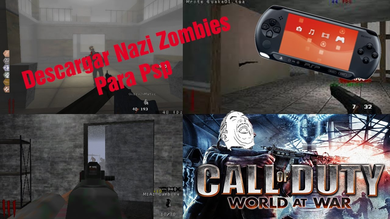 nazi zombies psp