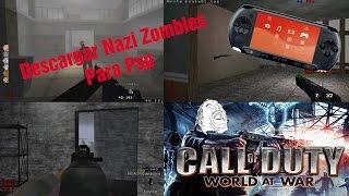 Como descargar Nazi zombies para PSP (TheDarkDiaz)