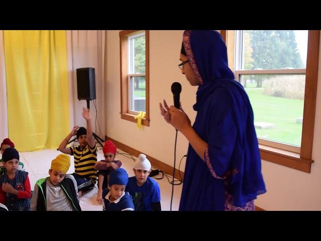 Bibi Gurmohan Kaur (UK) SFC2018 - Seva Workshop