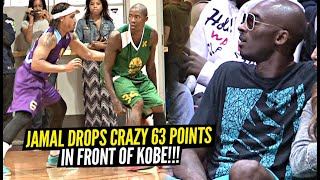 Jamal Crawford Drops CRAZY 63 Points In Front of Kobe Bryant!! Ends it w/ INSANE GAME WINNER!!