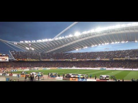 Top 5 Stadiums Greek Superleague 2016/17