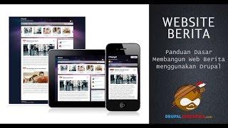 Langkah awal membuat Website Berita dengan Drupal