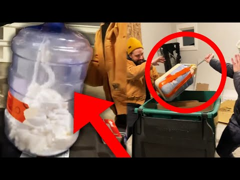 EXPLODING WATER TANK EXPERIMENT FAIL | The Adley Show