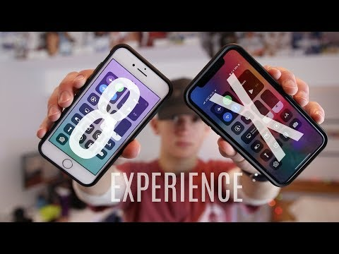 Download Youtube: iPhone X vs iPhone 8: The Experience