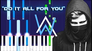 Download Alan Walker & Trevor Guthrie - Do It All for You Piano Tutorial EASY (Piano Cover)