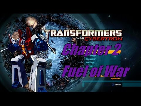"Transformers War for Cybetron: Chapter 2 ""Fuels of War"""