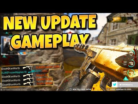TRYING OUT THE NEW COD WW2 UPDATE! (Call of Duty: WW2 Gameplay)