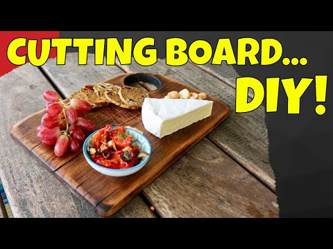 How to Make a Cutting Board. Antique Style Chopping Board.