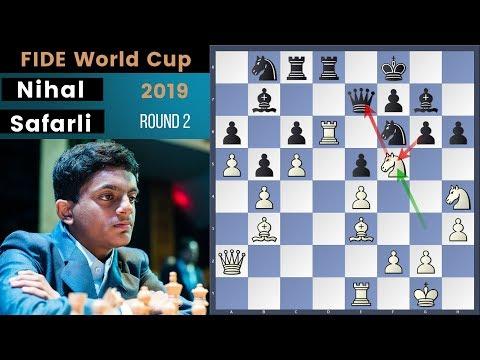 Immortal Game! - Nihal vs Safarli | Fide World Cup 2019