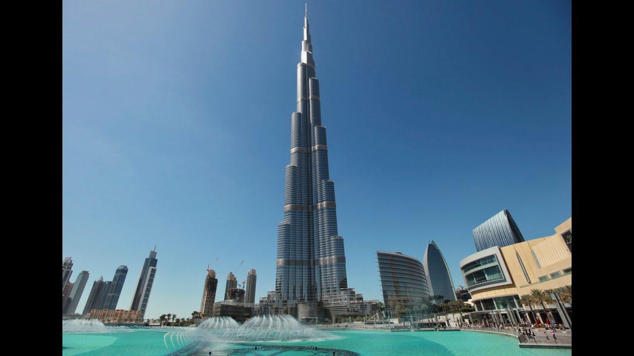 Burj Khalifa o Maior Edifício do Mundo - Obras Incríveis - Dubai - National Geographic