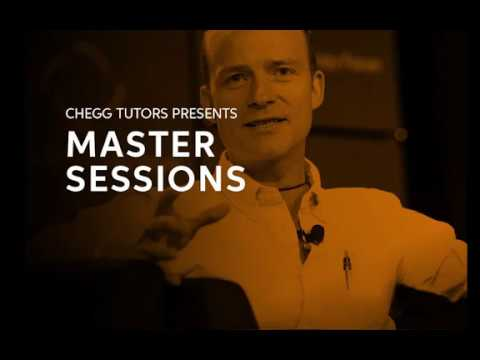 Chegg Tutors: Master Sessions with Co-founder of ONE, Jamie Drummond