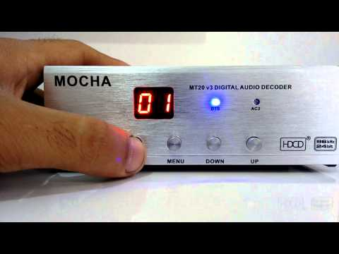 Mocha MT-20 V3 Digital Audio Decoder 5.1 + Home Theater Genius SW-HF 5.1 5000