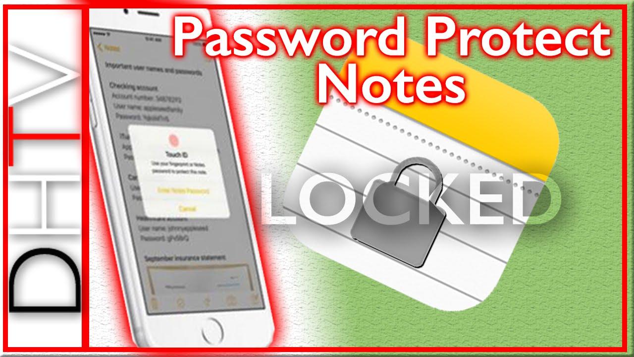 ios password protect photos