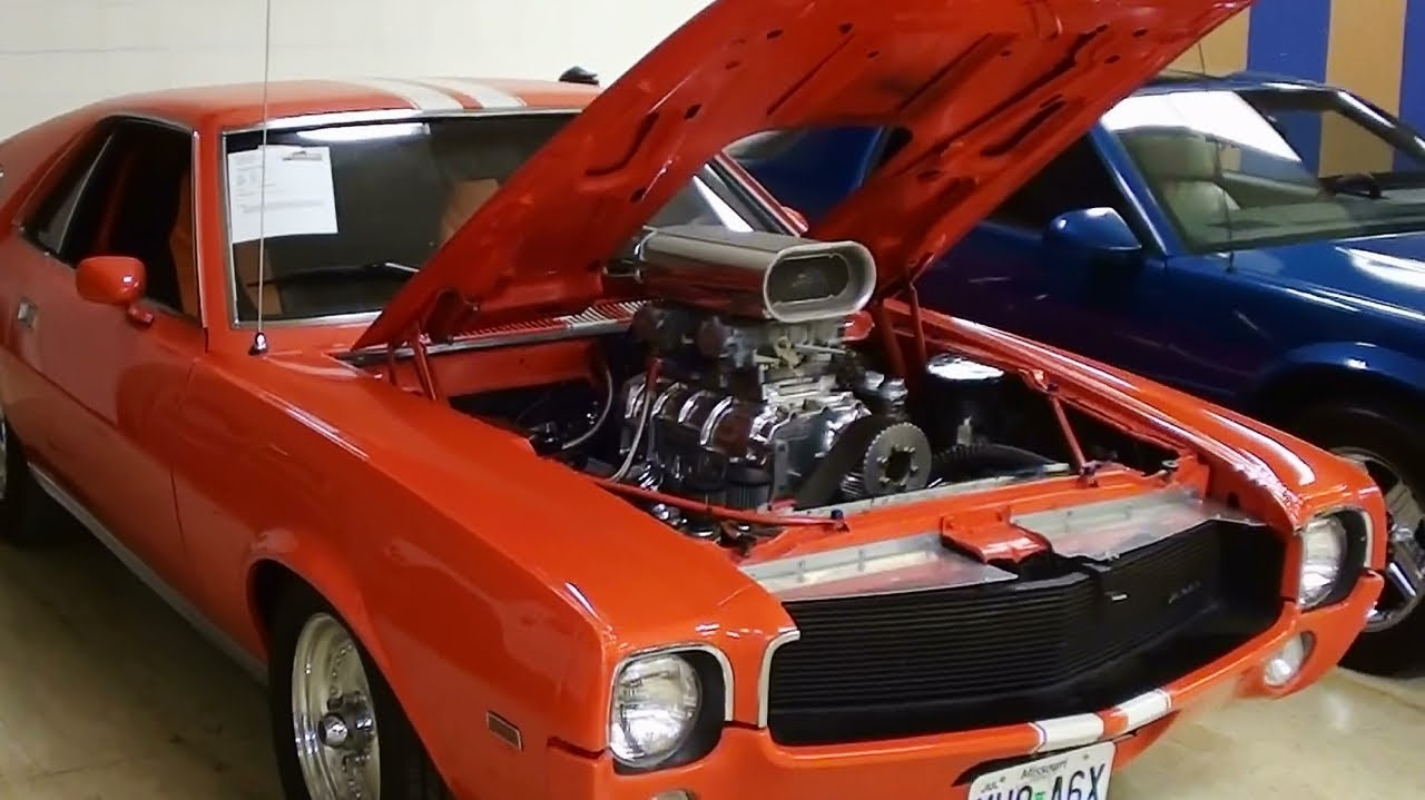 Hp Supercharged Amc Amx Street Legal Drag Car Youtube