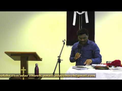 Abu Dhabi Apostolic Church. UAE Worship & Message January 2016